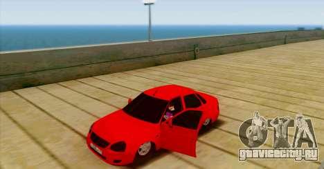 ВАЗ 2170 БПАN для GTA San Andreas вид справа