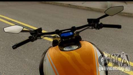 Ducati Diavel 2012 для GTA San Andreas вид сзади слева
