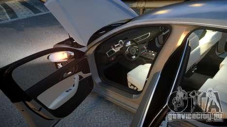 Audi S6 v1.0 2013 для GTA 4 вид сверху