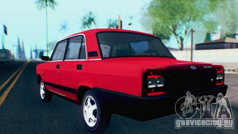 ВАЗ 2107М для GTA San Andreas вид слева