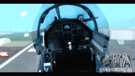 Beechcraft T-6 Texan II US Air Force 3 для GTA San Andreas вид сзади