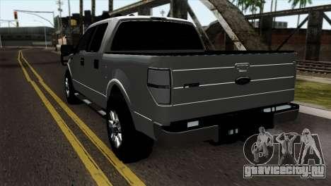 Ford F-150 4X4 Off Road для GTA San Andreas вид слева
