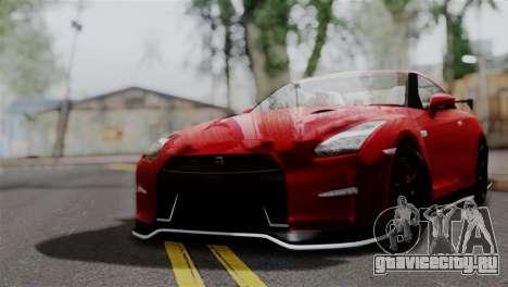 Nissan GTR Nismo 2015 для GTA San Andreas