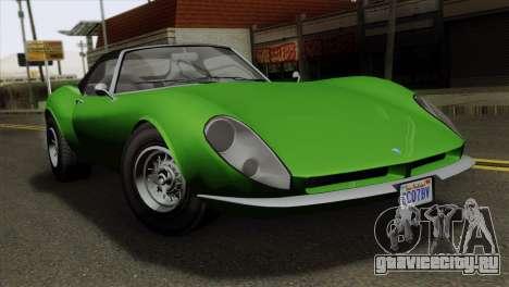 GTA 5 Grotti Stinger GT v2 для GTA San Andreas