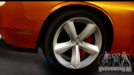 Dodge Challenger SRT8 2009 для GTA San Andreas