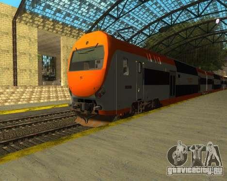 ONCF Ansaldo Breda Z2M (Замыкающий вагон) для GTA San Andreas вид слева