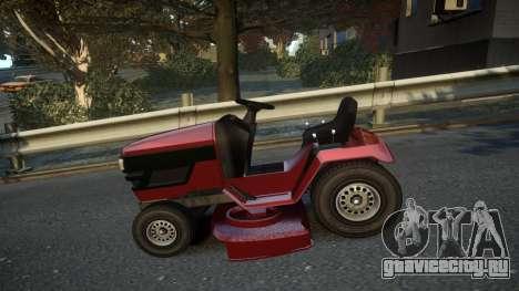 GTA V Lawn Mower для GTA 4 вид слева