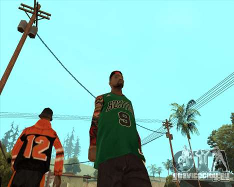 Grove HD для GTA San Andreas второй скриншот