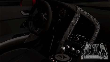 Audi R8 v2 для GTA San Andreas вид справа