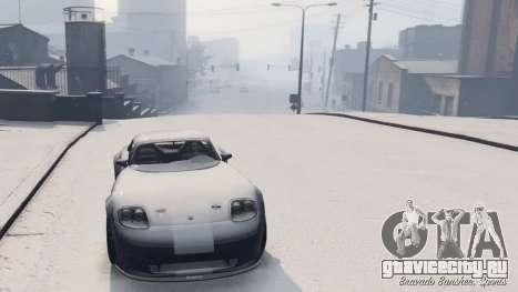 GTA V Online Snow Mod для GTA 5 четвертый скриншот