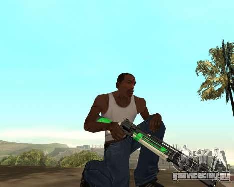 Green Pack Asiimov CS:GO для GTA San Andreas пятый скриншот