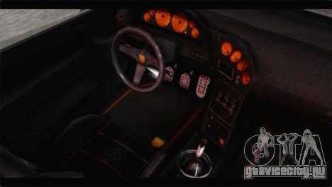 GTA 5 Pegassi Zentorno Spider для GTA San Andreas вид сзади