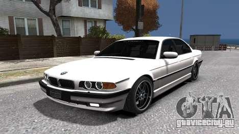 BMW 750i e38 1994 Final для GTA 4 вид сбоку