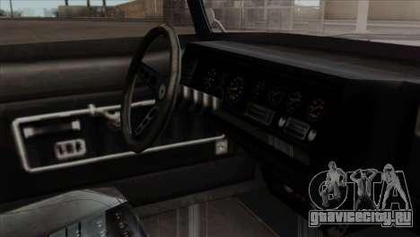 GTA 5 Lampadati Casco IVF для GTA San Andreas вид справа