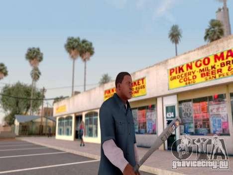 ENB для средних PC by WD для GTA San Andreas шестой скриншот
