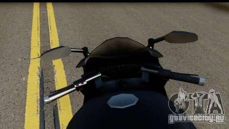 GTA 5 Carbon RS для GTA San Andreas вид сзади слева