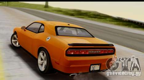 Dodge Challenger SRT8 2009 для GTA San Andreas вид слева