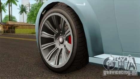 GTA 5 Ubermacht Zion XS Cabrio IVF для GTA San Andreas вид сзади слева