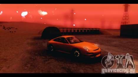 ENB v4 для GTA San Andreas второй скриншот
