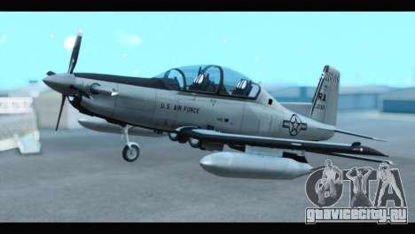 Beechcraft T-6 Texan II US Air Force 3 для GTA San Andreas