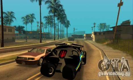 The Tumbler UA Style для GTA San Andreas вид сзади слева