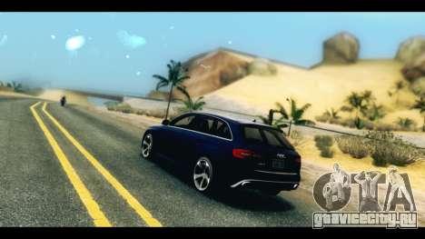 ENB v4 для GTA San Andreas третий скриншот