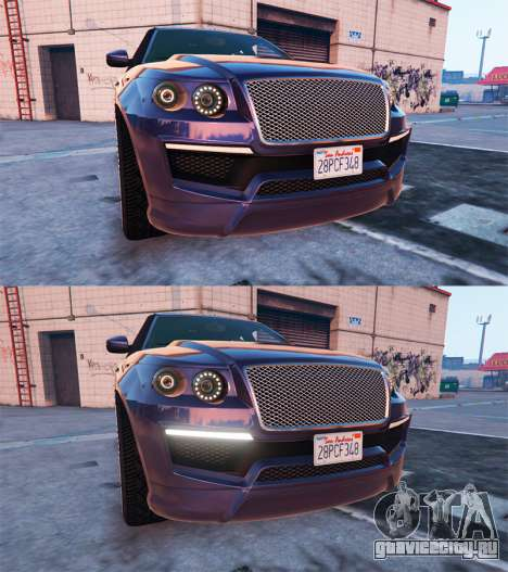 Управление автомобилем для GTA 5 второй скриншот
