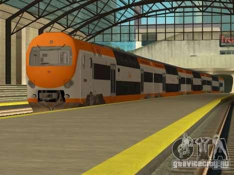 ONCF Ansaldo Breda Z2M (Замыкающий вагон) для GTA San Andreas вид сзади слева