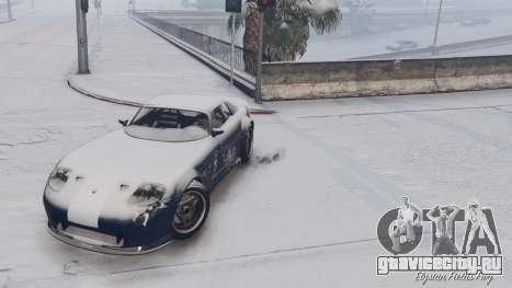 GTA V Online Snow Mod для GTA 5 пятый скриншот