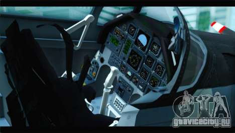 Beechcraft T-6 Texan II United States Air Force для GTA San Andreas вид сзади