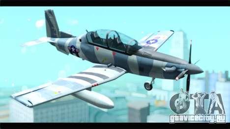 Beechcraft T-6 Texan II United States Air Force для GTA San Andreas