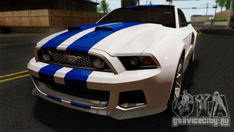 Ford Shelby 2014 для GTA San Andreas