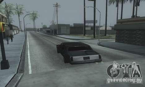 Beautiful ENB Colormod 1.3 для GTA San Andreas седьмой скриншот