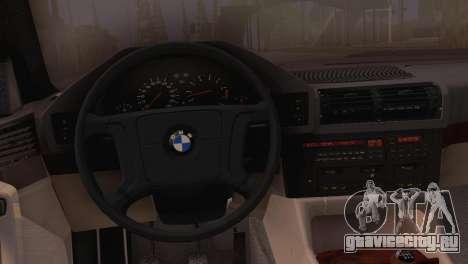 BMW 525i E34 2.0 для GTA San Andreas вид справа