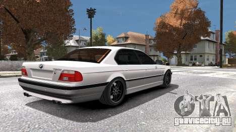 BMW 750i e38 1994 Final для GTA 4 салон