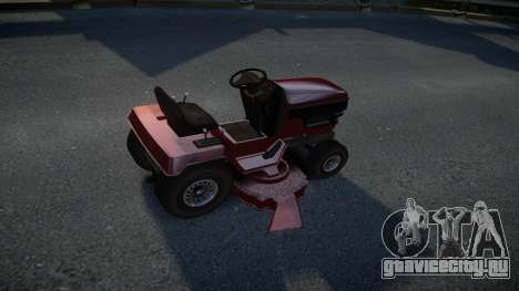 GTA V Lawn Mower для GTA 4 вид справа
