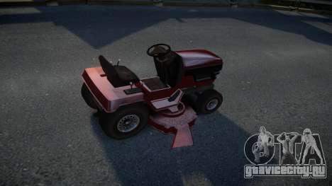 GTA V Lawn Mower для GTA 4 вид справа