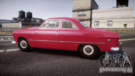 Ford Business 1949 v2.2 для GTA 4 вид слева