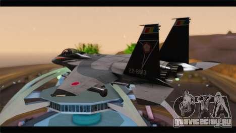 F-15J Hyakuri Air Base 30th Anniversary для GTA San Andreas вид слева