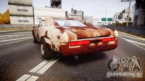 Imponte Dukes Beater для GTA 4 вид сзади слева
