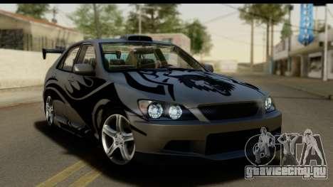 Lexus IS300 Tunable для GTA San Andreas