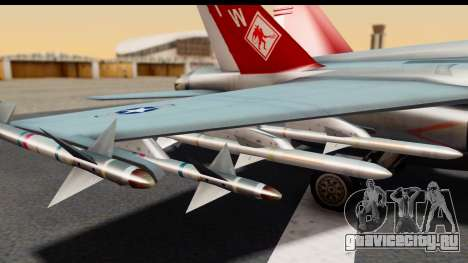 McDonnell Douglas FA-18C Hornet VMFA-232 USMC для GTA San Andreas вид справа