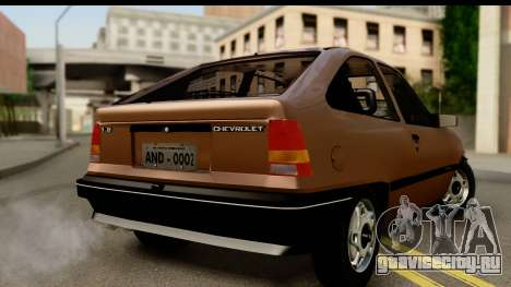 Chevrolet Kadett SL v2.0 для GTA San Andreas вид слева