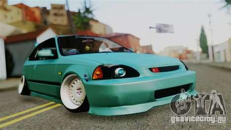 Honda Civic 1.4 Hatcback для GTA San Andreas