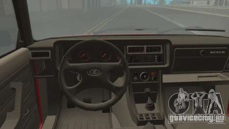 ВАЗ 2107М для GTA San Andreas вид сзади слева