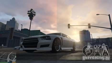 Sharp Vibrant Realism (Custom ReShade) для GTA 5 пятый скриншот