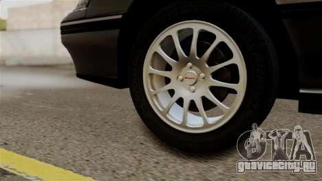 Subaru Legacy RS 1990 для GTA San Andreas вид сзади слева