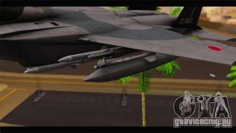 F-15J Hyakuri Air Base 30th Anniversary для GTA San Andreas вид справа