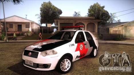 Fiat Siena 2011 для GTA San Andreas