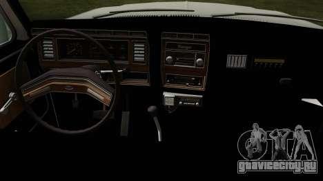 Ford F-150 1982 Final для GTA San Andreas вид справа